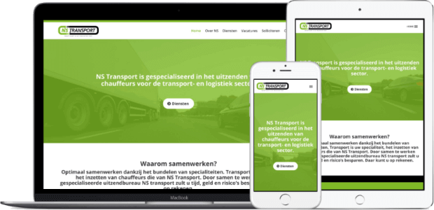 Webdesign Haarlem nstransport.nl_