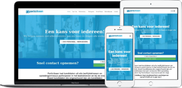 Website bouwer particibaan.nl_