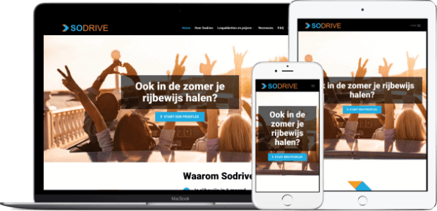 sodrive.nl website